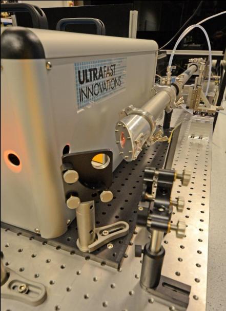 <5fs空芯光纤脉冲压缩器
